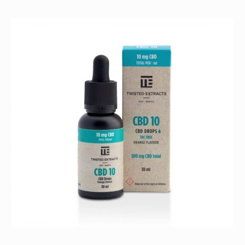 Twisted Extracts – 300mg CBD Orange Flavour