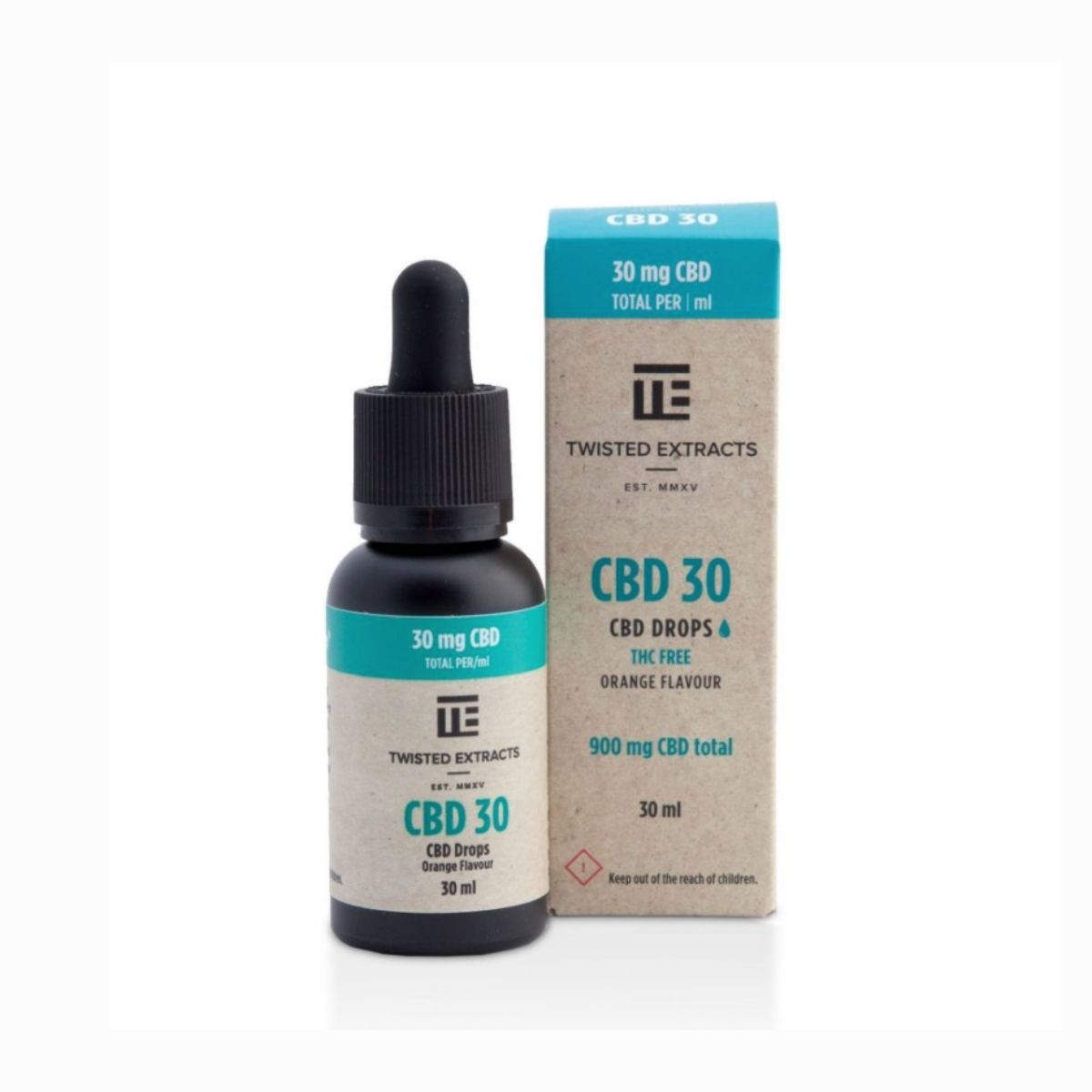 Twisted Extracts – 900mg CBD Orange Flavour