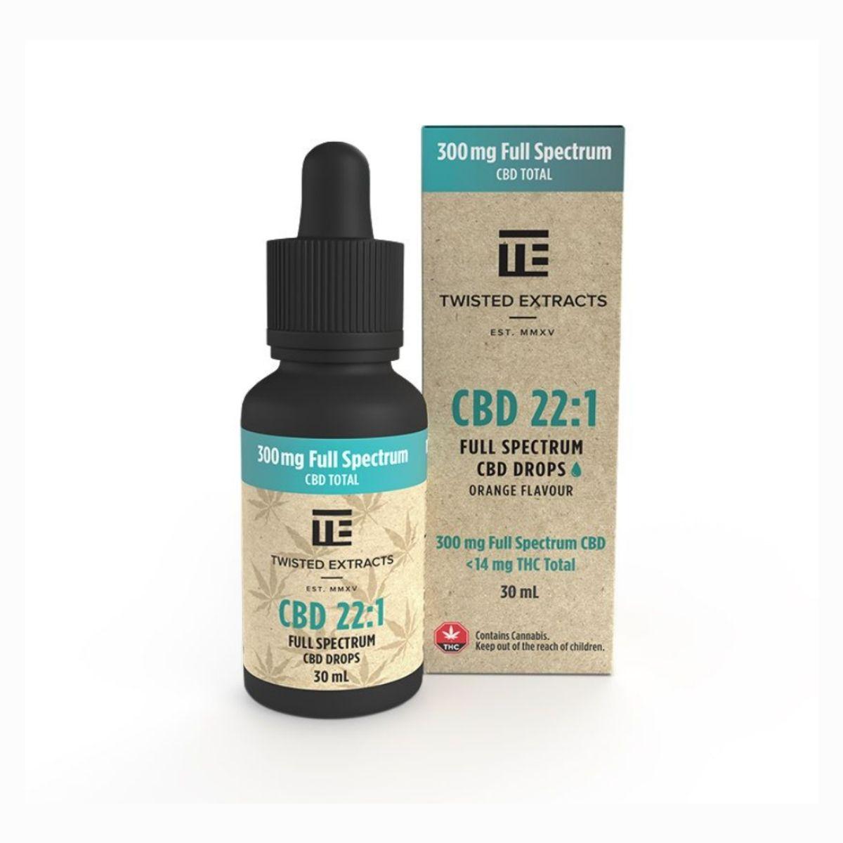 Twisted Extracts Sativa 221 CBD & THC Tincture